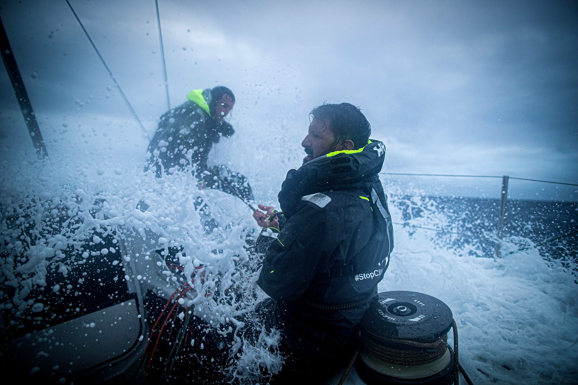 Somewhere cold and wet in the Atlantic Ocean