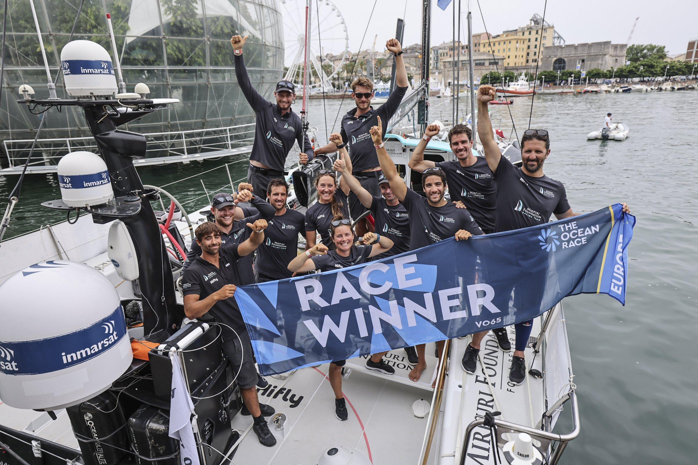 Mirpuri Foundation Racing Team wins The Ocean Race Europe